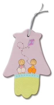 תמונה של זוג ילדים - עפיפון