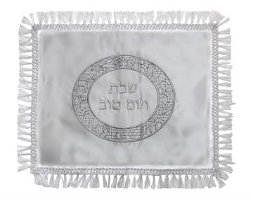 """תמונה של כיסוי חלה סטן """"ירושלים העתיקה"""" עיגול"""