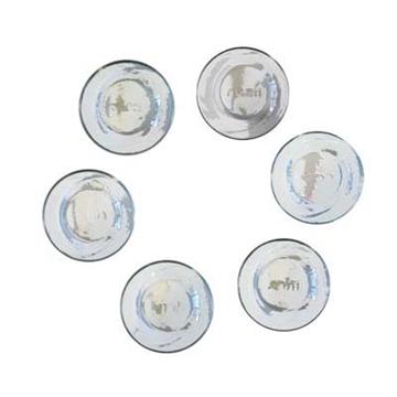 תמונה של שש קערות זכוכית לצלחת פסח - יאיר עמנואל