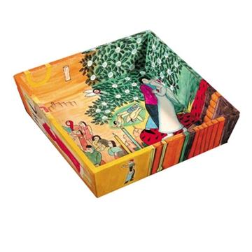 """תמונה של מגש מצות לפסח מעץ """"דמויות תנכיות"""" - יאיר עמנואל"""