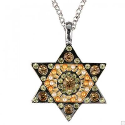 תמונה של שרשרת מגן דוד (זהב) - יאיר עמנואל