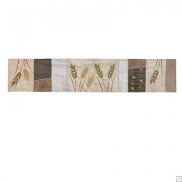"""תמונה של ראנר לשולחן ממשי פראי """"חיטה"""" (זהב) - יאיר עמנואל"""