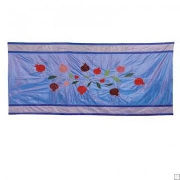 """תמונה של מפה לשולחן ממשי פראי """"רימונים"""" (כחול) - יאיר עמנואל"""