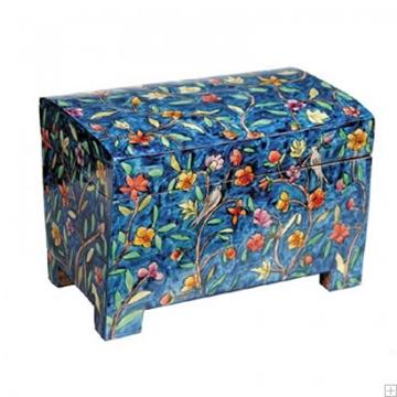 תמונה של קופסה לאתרוג מעץ בסגנון אוריינטלי - יאיר עמנואל
