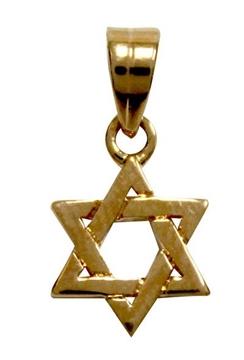 """תמונה של תליון גולדפילד """"מגן דוד"""" (זהב)"""