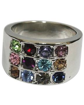 """תמונה של טבעת מנירוסטה """"אבני החושן"""""""