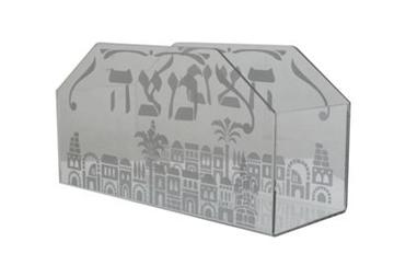 """תמונה של מעמד מצות מזכוכית """"ירושלים העתיקה"""""""