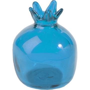 תמונה של רימון גדול מזכוכית (כחול) - יאיר עמנואל
