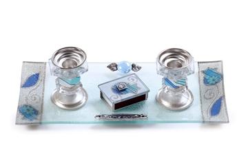 תמונה של סט פמוטים עם גפרורים (כחול) - לילי אומנות