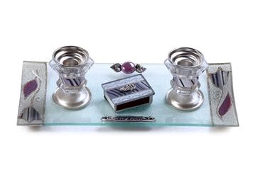 תמונה של סט פמוטים עם גפרורים (סגול) - לילי אומנות