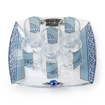 תמונה של סט יין קטן (כחול) - לילי אומנות