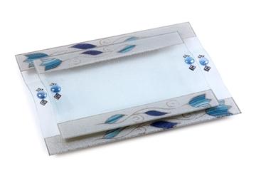 תמונה של סט מגשים מלבניים - לילי אומנות