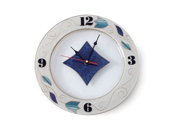 תמונה של שעון עגול - לילי אומנות
