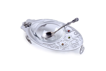 תמונה של כלי לחרוסת מנירוסטה - לילי אומנות