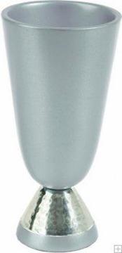 תמונה של גביע קידוש מאלומיניום (כסף) - יאיר עמנואל