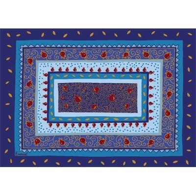 תמונה של פלייסמנט מיוחד להבדלה (כחול) - יאיר עמנואל