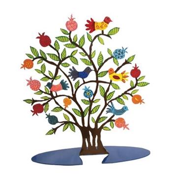 """תמונה של קישוט לשולחן מאלומיניום """"עץ רימונים"""" - יאיר עמנואל"""