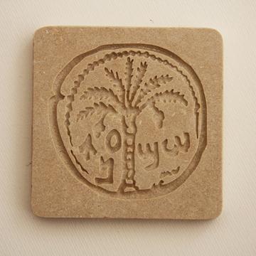 """תמונה של משקולת נייר מאבן ירושלמית """"תמר"""" - קיסריה ארט"""