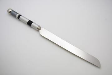 תמונה של סכין לחלה (כסף) - קיסריה ארט