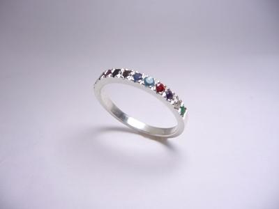 תמונה של טבעת חושן דקה