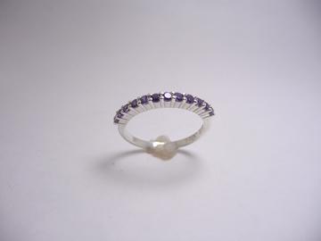 תמונה של טבעת כסף מניפה
