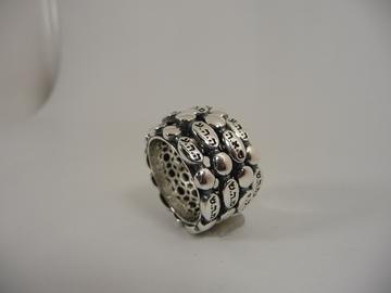 תמונה של טבעת קבלה מסתובבת עם צירופי שמות הבורא