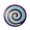 """תמונה של כלי הגשה מאלומיניום שני חלקים """"ספירלה"""" 4 צבעים לבחירה - יאיר עמנואל"""
